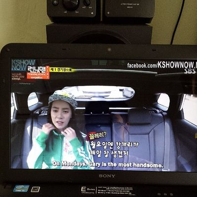 Ahhh so sweet! Mondaycouple Missmong KangGary Runningman