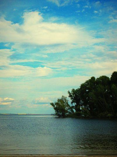 Волга Water Nature Beautiful красота Russia Россия Природа Beautiful Nature облака нежность небо Beauty In Nature наедине с природой прекрасный вечер Beauty No People Nature