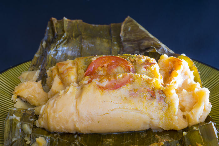 Nacatamales of Nicaraguan Cuisine. A nacatamal is a dish found in Honduras and Nicaragua similar to the tamales or tamal BASED Close-up Corn Creole Cuisine Culture Dish Gastronomic Gastronomy Honduran Latin America Naca Tamales Naca-tamales Nacatamales Nicaraguan No People Plate Still Life Tamal Tamale Tamales Traditional
