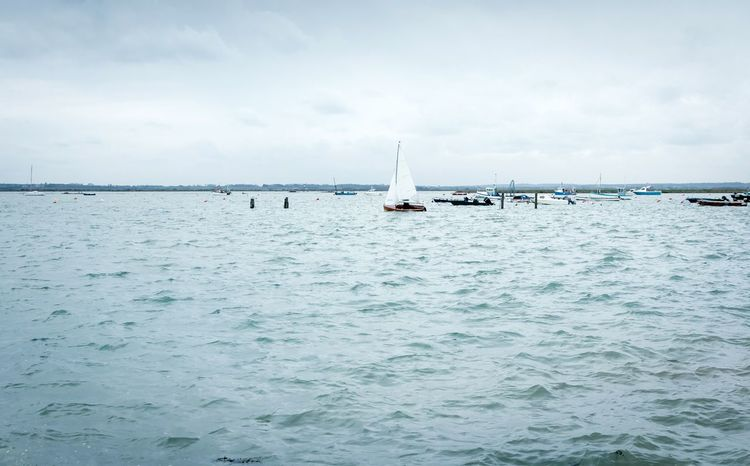 Outdoors Pasttime Leisure Activity Sailing Vacations Transportation Tranquility Nautical Vessel Water Colchester Sea Hobby West Mersea Essex Boat Boating Blue England Tranquil Scene Buoy Sailboat No People Breathing Space