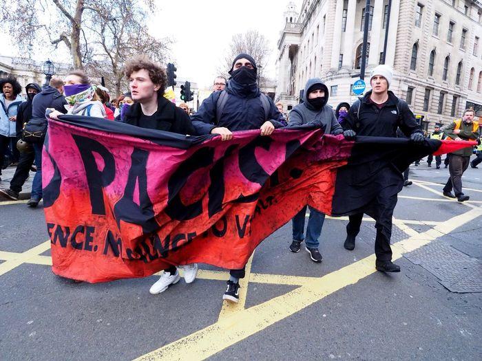 Oppose tommy Robinson in London, Unite Against Racism & Facism. London. 09/12/2018 Tommy Robinson Racism Anti Racism Protest Anti Facism Racism Protest Protesters Oppose Racism London News Olympus OM-D Mzuiko Steve Merrick Stevesevilempire