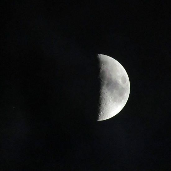 Moon Half Moon Moonlover First Eyeem Photo