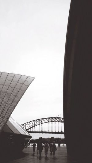 Shapes in the city Bridge Operahouse Architecture Architecture_collection Urban Geometry Blackandwhite