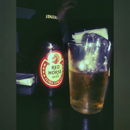 Instashot Nocrop Redhorse Beer because friday. crocogrill