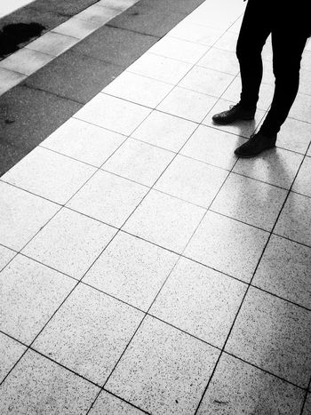 Waiting for the train to come Notes From The Underground Commuting Public Transportation Light And Shadow Bw_collection Blackandwhite Streetphotography People Watching
