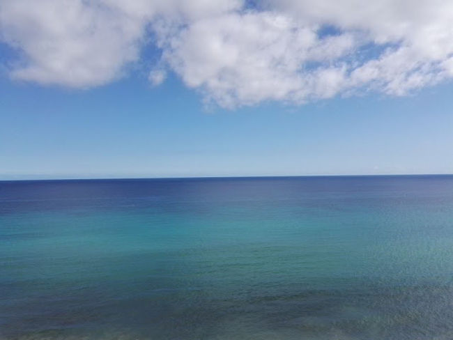 Sea Horizon Over Water Water Blue Scenics Sky Beach Landscape Beauty In Nature Nature No People Horizon Outdoors Clear Sky Tranquil Scene Day Atlantic Ocean Urlaub Fuerteventura Tui Magic Life Smartphone Photography No Edit/no Filter NewToEyeEm Cloud - Sky Sea And Sky