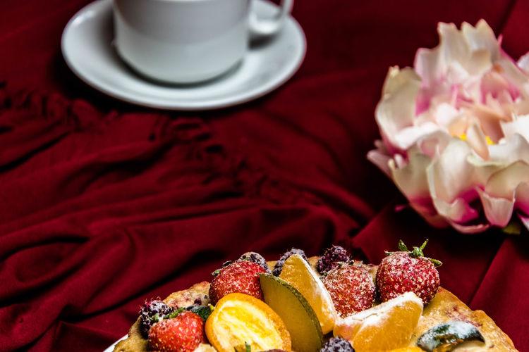 fruit cake on a