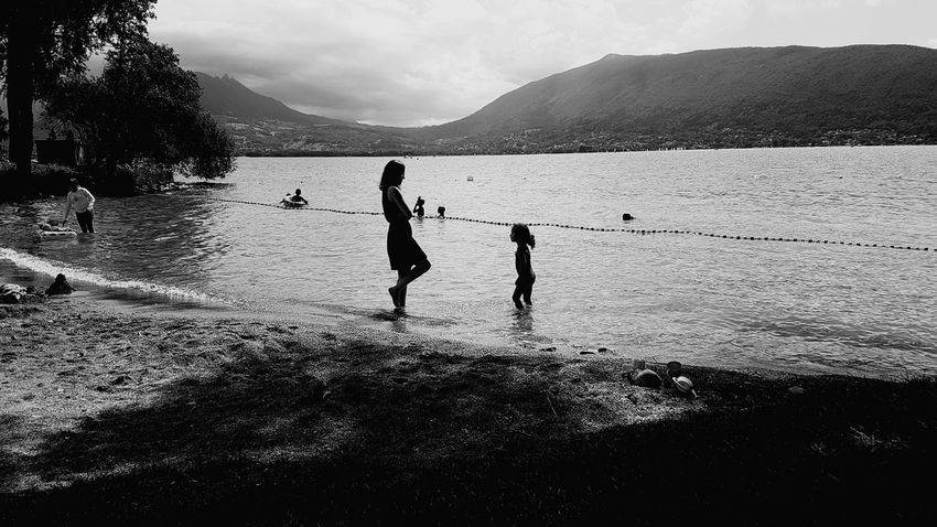 Lake View Annecy, France Vacations Mother & Daughter Water Mountain Tranquil Scene Annecy Lake Summertime Summer France🇫🇷 Alpesmountain Landscape EyeEm New Here EyeEmNewHere