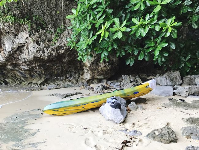Outdoors Nature Day No People Beauty In Nature Beach Kayaking Kayak Philippines Island Beach Day Paddle Being A Tourist