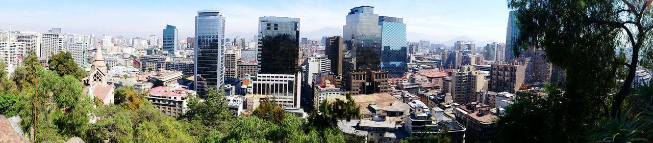Chile Chilegram Santiago De Chile 2015  Panoramic Beautiful Day