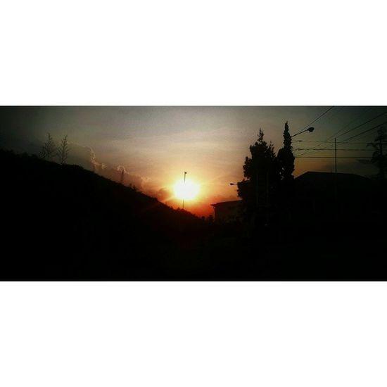 Sunset at Villaistanabunga Lembang Bandungbarat westjava