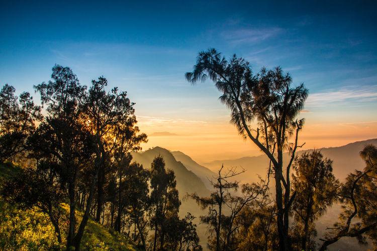 The Warm Sunrise #Sunrise #bromomountain Day Landscape Mountain Nature No People Scenics