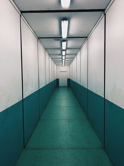 Scary Hallway Hallway Scary Architecture The Way Forward Direction Arcade Corridor Built Structure Diminishing Perspective