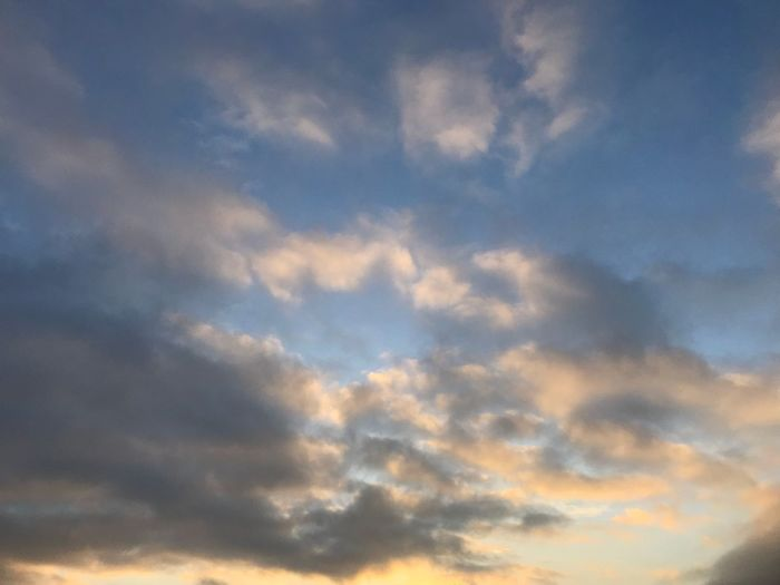Sky Beauty In Nature Cloud - Sky Sky Nature Low Angle View Scenics Backgrounds No People Tranquility Sky Only Tranquil Scene Full Frame Day