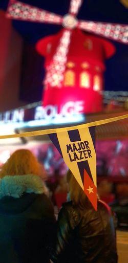 Bonjour EyEmers ! Likeforfollow Travel Public Transportation Winter Instacool Paris❤ Bonjour!  Paris, France  Moulin Rouge Moulinrouge Moulin Rouge Paris Blanche People Bonne Soirée Bonne Nuit No People City Cityscape Likeme