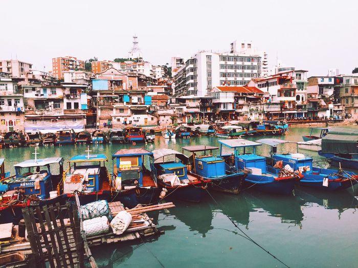 Sleeping boats 😚 Travel In Xiamen On Apr.