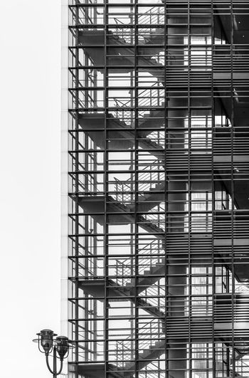 Black And White Steps And Staircases Best Of Stairways Modern Glass - Material Pattern Texture Built Structure Architecture Building Exterior Staircase Building Day Low Angle View Fire Escape Railing Metal Nature Outdoors No People Safety Accidents And Disasters City Emergency Exit Apartment Skyscraper