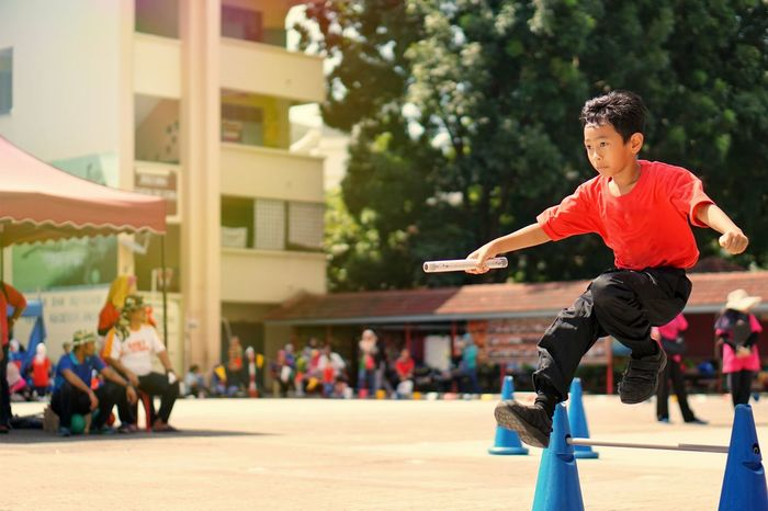 Child Sport Motion Childhood Offspring Happiness One Person Men Fun Day Emotion Boys Leisure Activity Lifestyles Skill  Outdoors