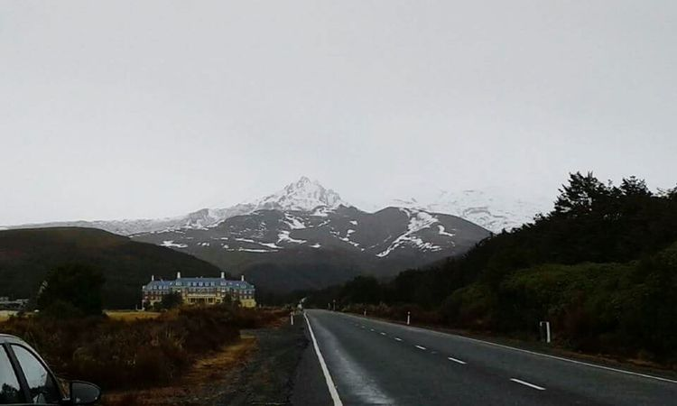 Mt. Ruapehu. Snow ❄ Mountain Newzealand