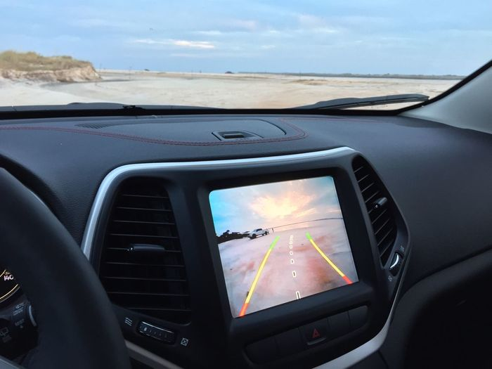 From My Point Of View Jeep Rearview Life Is A Beach Holiday POV
