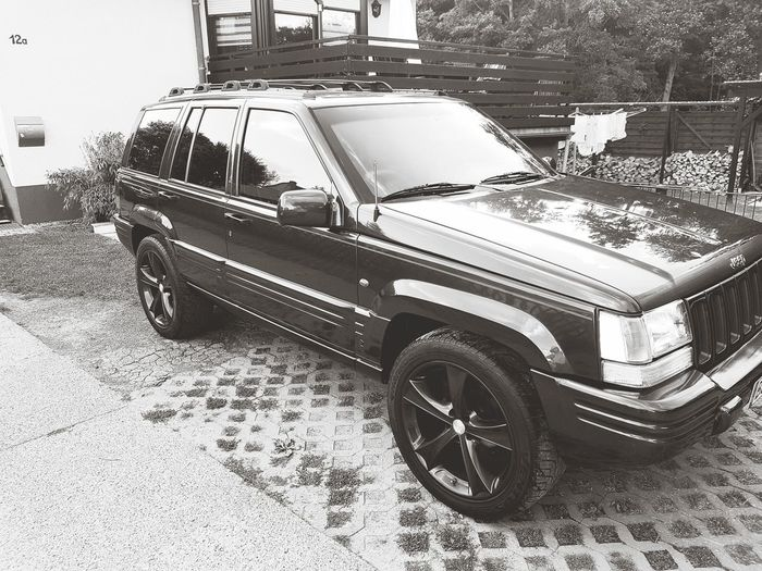 4×4jeep Grand Cherokee 4.0L V6  Oldschool This Is Masculinity