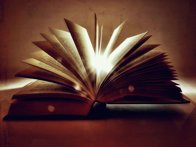 Book Education Wisdom Page Literature Learning Table Intelligence No People Indoors  Close-up Library Backlight Backlit Pages Magic Magical Still Life Vintage Extraordinary  Bokeh Secret EyeEm Ready   AI Now Visual Creativity