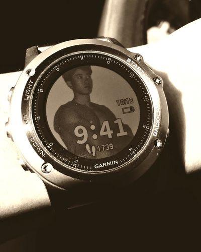 Garminfenix3 Me San Diego Clock