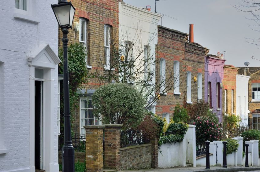 London street Building Exterior Architecture Residential District Building Street London Outdoors Housing Built Structure Row House