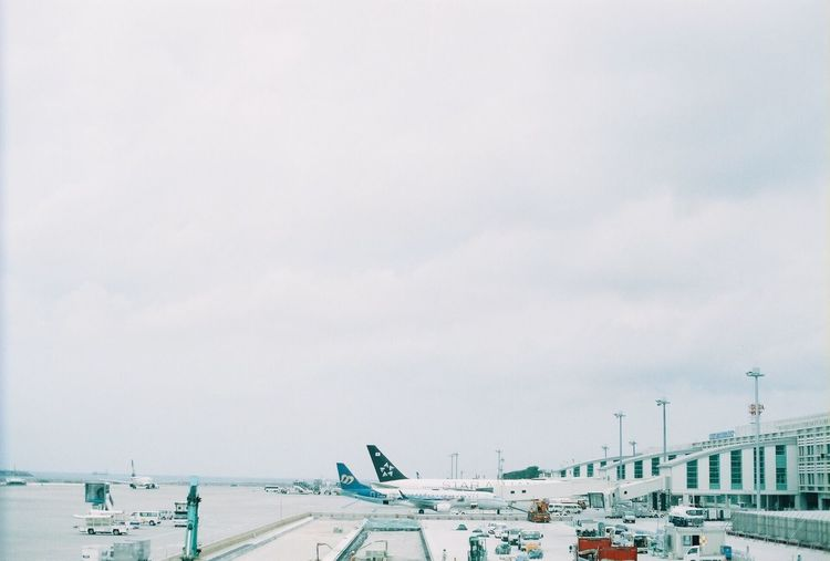 Transportation Mode Of Transport Cloud - Sky No People 35mm 35mmfilm 35mmfilmphotography Travel Flying ✈