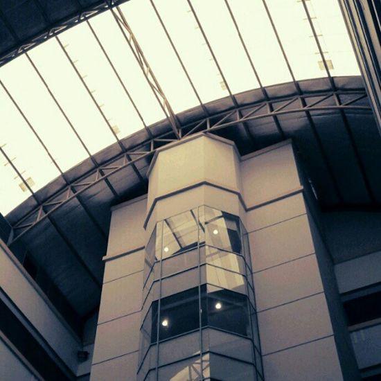 inside of Binus University Building Indoor Andronesia Puddingcamera
