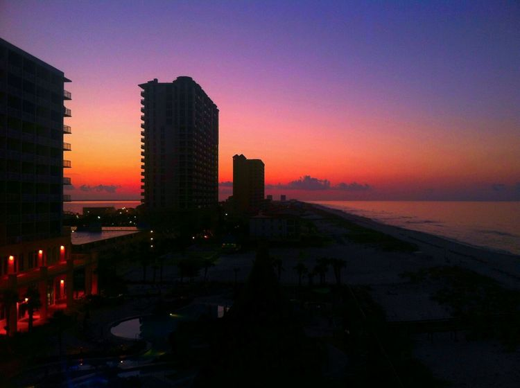 What a view Sunrise_Collection Sitram Photo's Creative Light And Shadow Florida Buildings Overthecity Ocean View Balcony View Check This Out Eyembestphotos
