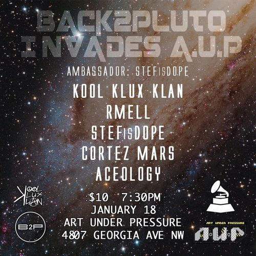 Come Witness Dope Hip Hop This Friday At AUP