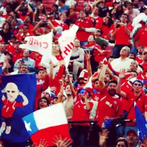 Clasificatorias brazil 2014 Marearoja Chile Chilepaisajes Seleccionchilena barrachilena @seleccionchilena