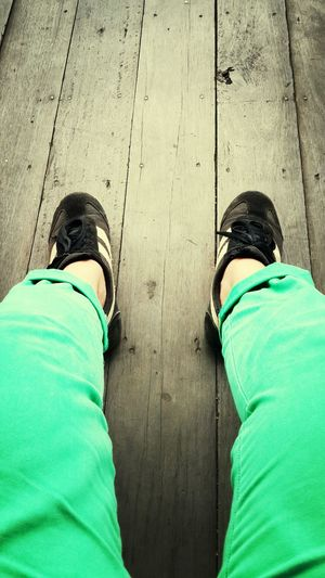 greeny trousser!!!..woohooo