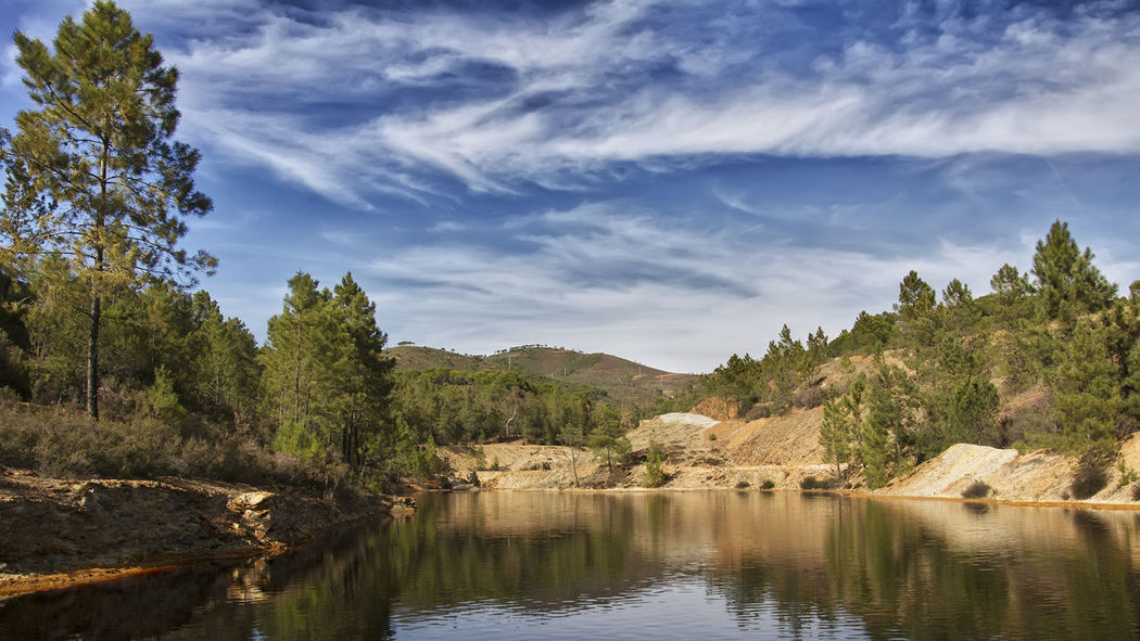 Beauty In Nature Minas De Riotinto Nature Riotinto Scenics Tranquility Water