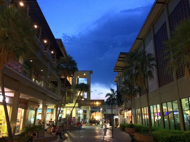 Built Structure Building Exterior Architecture Sky Night Illuminated Outdoors Street Walking Street Light Real People Men Group Of People Women People