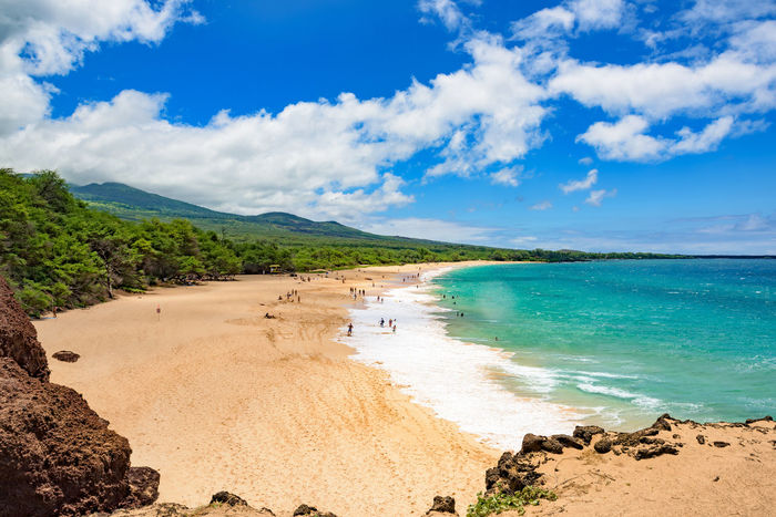 Long beach, Maui Away Away From It All Beach Cloudscape Freedom Hawaii Holiday Horizon Over Water Horizontal Maui Ocean Ocean View Outdoors Pacific Ocean People Relax Sea Shore Summer Surf Travel Tropical Vacation Sommergefühle