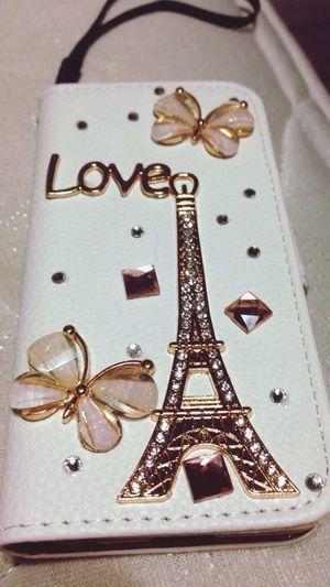 Iphone5C NewPhoneCase Phone Phonecase Love Effiel Tower Paris Custom Made Iphone Walletcase