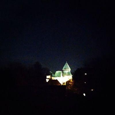 Die LinnerBurg bei Nacht aus meinem Fenster Fotografiert mit dem LGG2 . BurgLinn Linn Burg Krefeld LG G2