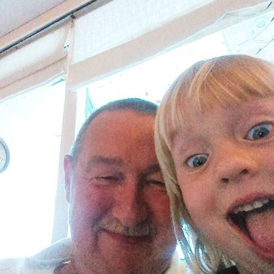 Når datteren stjæler ens mobil, så får man fine billeder❤ hun er allerede super til at tage selfi's Telenorsfotoskole Weekendudfordring
