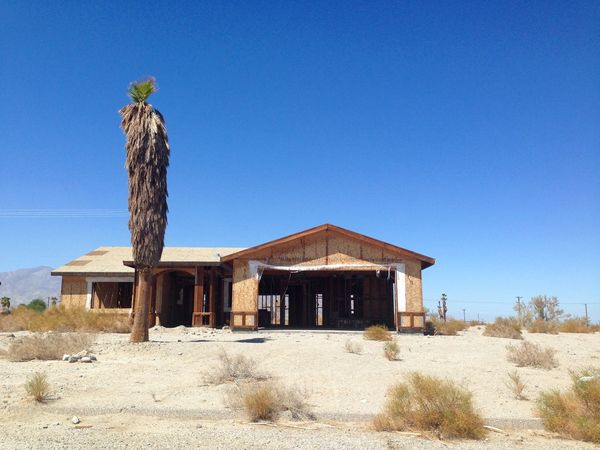 Apocalyptic Visions Dead Tree Desert Desert Life Deserted House Deserted Houses Deserted Places Deserted Scapes Deserted Town Deserted Village Dry Empty House Empty Places For Sale Forgotten Places  Forsaken House At The End Of The Road Palm Tree Salton Sea Sand Tumbleweed