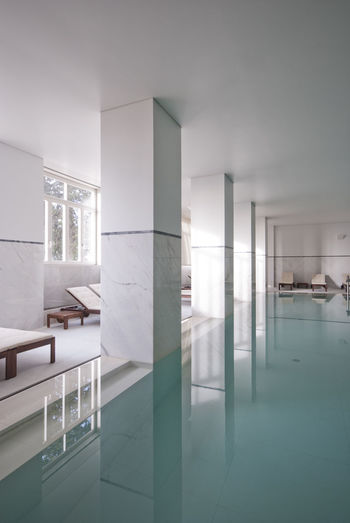 Architecture Glass Calm Indoors  Interior No People Pool