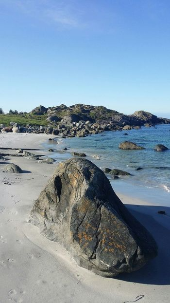Beach Island Western Norway Coastline