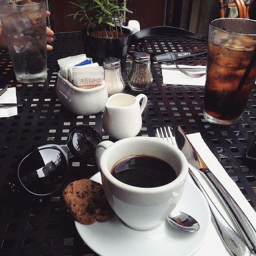 Coffee & Cookie Teatime in KABB brunch xintiandi daily 브런치 후 티타임 디저트 로 쿠키 와 커피 데일리 일상 맛스타그램 먹스타그램 에스프레소