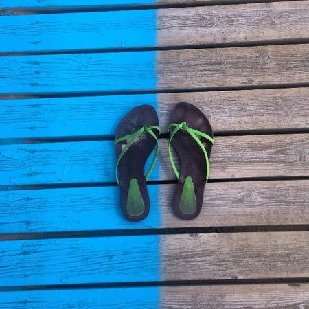 Madera Wood Sandalias Azul Azul Green Valenciagram Ig_captures_minimalism Vivir_to2 Enfocae