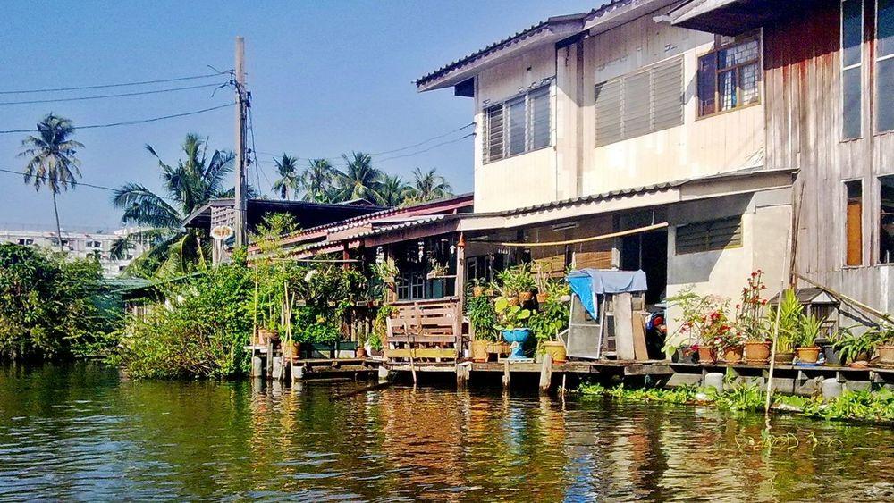Boattrip around Ko Kret Island in Bangkok Bangkok Boat Tour Canal Kanal Klong Klongfahrt Ko Kret Thailand Water