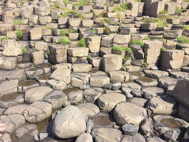 Giants Causeway Ireland Rock - Object Stone Material Nature Stone Pillars Wonders Of The World