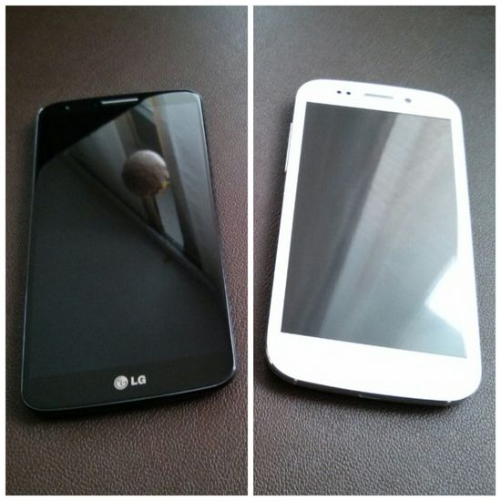 LGG2 vs WikoStairway Smartphone Android