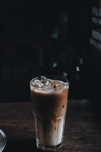Caramel Macchiato Coffee Coffee Time Coffee Break Coffee Shop Drinking Coffee Cafehopping Cafehoppingbkk Coffeetime Table Afternoon Coffee