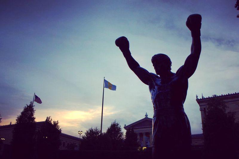 Rocky statue. Philly Philadelphia Rocky Philadelphiaartmuseum First Eyeem Photo